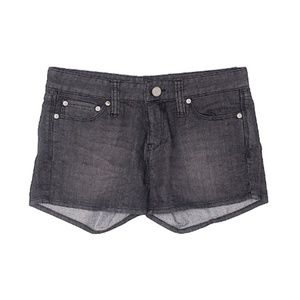 Moussy Denim Shorts Black Medium